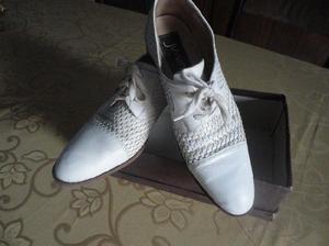 Zapato de cuero trenzado Juven´s