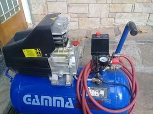 Compresor De Aire 50 Litros 2hp Gamma