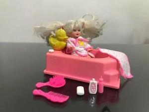 Kelly Bathtime Fun Original Mattel De Los 90