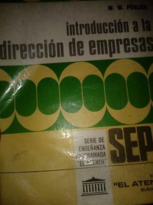 Libro INTRODUCCIÓN A LA DIRECCIÓN DE EMPRESAS Impecable!!
