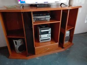 Mueble para TV y Mesa ratonera