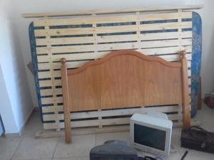 Particular vende cama doble y colchón Piero