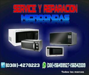 Reparación de microondas en Tucumán