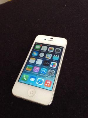 Vendo iPhone 4 8Gb, en perfecto funcionamiento, para chip
