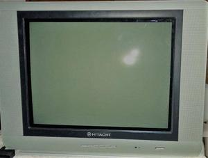 Vendo tv de 21 hitachi con control