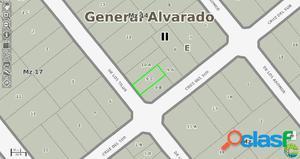 EXCELENTE LOTE EN VENTA EN BARRIO PARQUEMAR 250M2