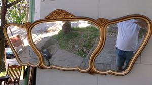 Hermoso espejo antiguo estilo Luis 15