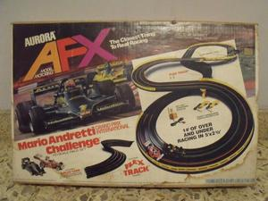 Pista Sacalextric Aurora AFX - Mario Andretti Challenge