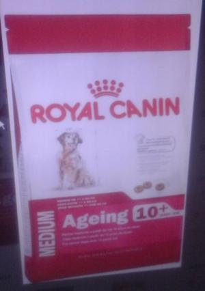 ROYAL CANIN MEDIUM ADULTO 10+ X 15KG ENVIOS A DOMICILIO SIN