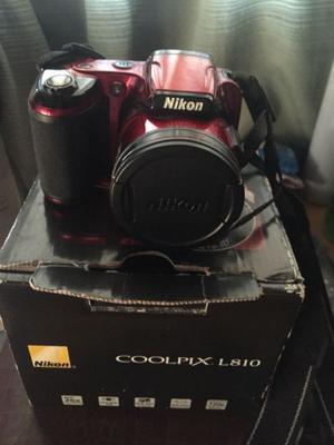 Nikon Coolpix L810 - Vendo por viaje