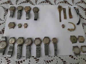 Relojes antiguos para rep y funcionando