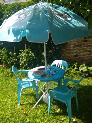 Vendo juego de mesa y silla