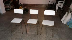Vendo 3 sillas a restaurar