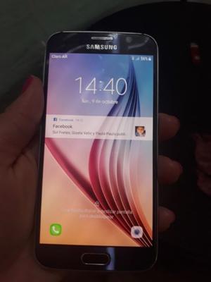Vendo Samsung Galaxy S6 Flat (NO ES EL CURVO)