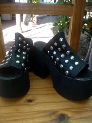 Zapatos con plataforma n 37