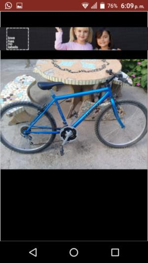 Bicicleta rodado 26 semi nueva
