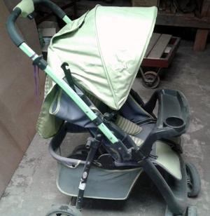 VENDO $  Cochecito de Bebé, ruedas dobles, poco uso,