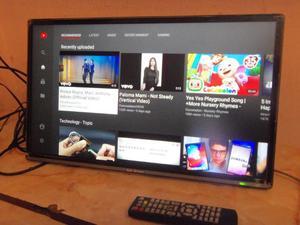"""Televisor Smart 24"""", Ken Brown, control, usb, tda, excelente"""
