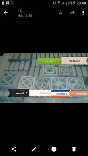 bloques artisticos de cemento somos fabricantes