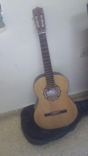 guitarra fonseca con funda  pesos