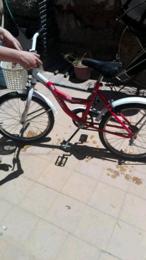 vendo bicicleta casi sin uso