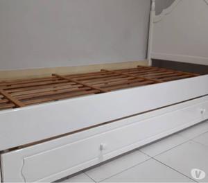 Conjunto completo de habitación madera laqueada IMPERDIBLE