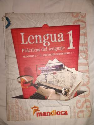 Lengua 1 Escenarios - Mandioca