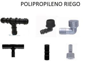 Lote de accesorios Polipropileno PPP para riego. Liquido,