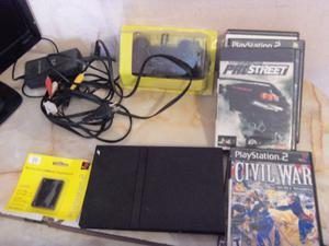 PS2, Play 2, Playstation 2, lente nuevo, joystick nuevo,