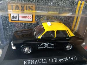 Renault 12 Taxi - escala 1/ 43. Con revista