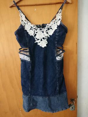 Vestido de jeans elastizado