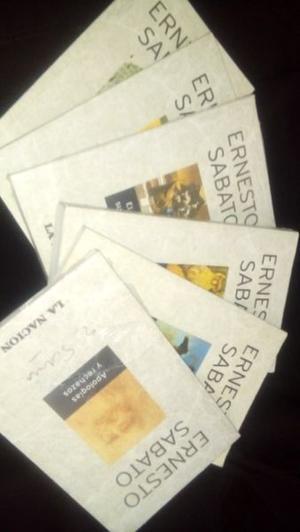 colección de libros de ernesto sabato la nación