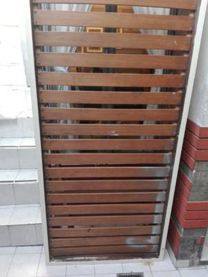 vendo cama de madera de 1 plaza