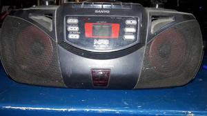 Radio Reproductor De Cd / Mp3 Sanyo Con Control Remoto
