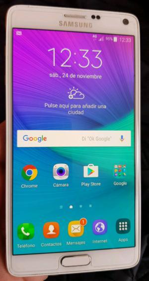 Samsung note 4 libre de fabrica 4g 32gb.