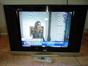 """TV JVC 21"""" Stereo con control remoto"""
