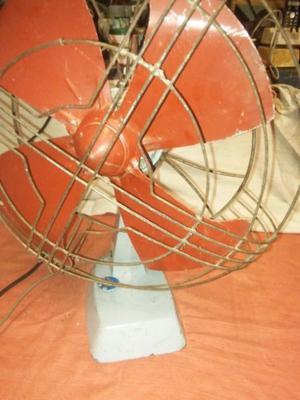 antiguo ventilador de mesa leer bien