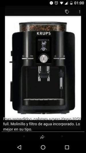 Cafetera Express Krups nueva