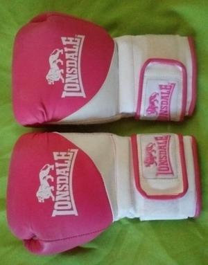 Guantes de Boxeo profesionales Lonsdale para mujer