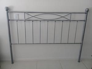 Juego de dormitorio completo en hierro forjado