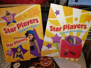 Star Players 1 Student's Book + Cd + Cutouts SIN USO!!