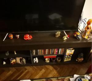 Mesa TV y mesa ratona