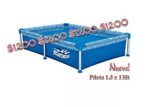 Vendo a $ Pileta de lona NUEVA de marca PELOPINCHO para