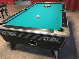 Mesa De Pool Silver Star Comercial