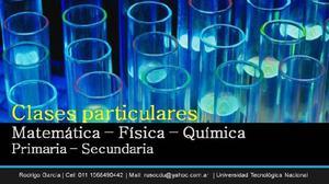 Clases Particulares De Matemática, Física, Química