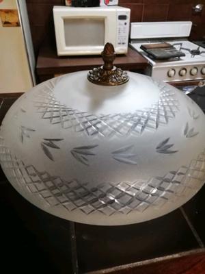 Plafones para techo de cristal y bronce impecables distintos