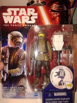 Star Wars - Resistance Trooper -ORIGINAL HASBRO DISNEY