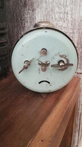 Antiguo Reloj Junghans A Cuerda.