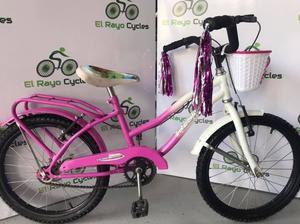 Bicicleta de Paseo de Niña Rodado 20 como nueva