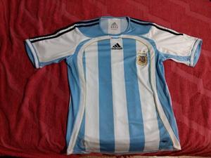 Camiseta Argentina Mundial Alemania  + Camiseta Arg
